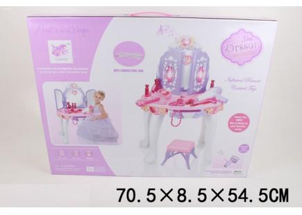 Столик для макияжа c пультом и MP3 Арт . 98135