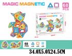 Constructor magnetic 68 detalii art.38700