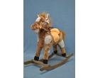 Качалка-лошадка в яблоках арт. 336