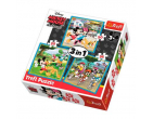 Mickey Mouse cu prietenii 3 în 1 art.34846