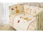 Комплект в кроватку Жирафики ТМ Perina 3 предмета
