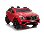 Mașina cu acumulator Mercedes Benz roșu