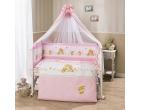 Комплект в кроватку Фея роз ТМ Perina