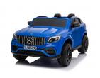 Mașină cu acumulator Mercedes Benz albastră