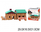 Set de construcții din lemn 170 el, art.23949