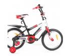 Bicicleta pentru copii Mustang Stitch* 16″ Red/White